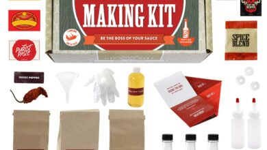 Photo of Homemade Hot Sauce Making Kit Gift