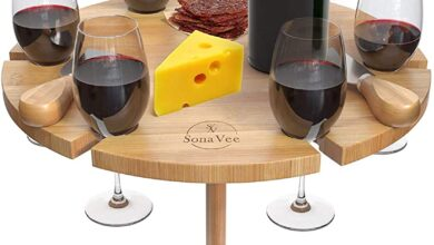 Photo of Portable Wine Picnic Table