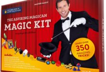 Photo of Magic Set Featuring 350 Entertaining Tricks