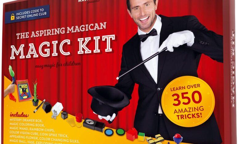 Photo of Magic Set Featuring 350 Entertaining Tricks